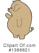 Pig Clipart #1388821 by lineartestpilot