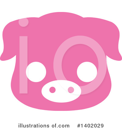Pig Clipart #1402029 by Pushkin