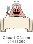 Pig Clipart #1418260 by Cory Thoman