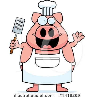 Spatula Clipart #1418269 by Cory Thoman