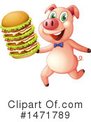 Pig Clipart #1471789 by Graphics RF