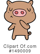 Pig Clipart #1490009 by lineartestpilot