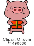 Pig Clipart #1490036 by lineartestpilot