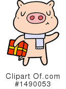 Pig Clipart #1490053 by lineartestpilot