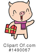 Pig Clipart #1490067 by lineartestpilot