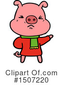 Pig Clipart #1507220 by lineartestpilot