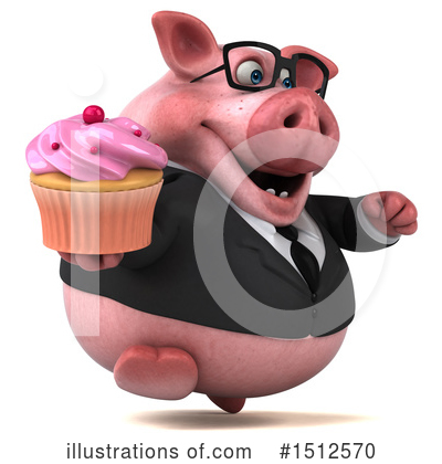 Royalty-Free (RF) Pig Clipart Illustration by Julos - Stock Sample #1512570