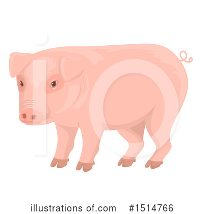 Pig Clipart #1514766 by BNP Design Studio