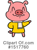 Pig Clipart #1517760 by lineartestpilot