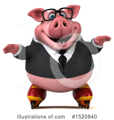 Royalty-Free (RF) Pig Clipart Illustration by Julos - Stock Sample #1520840