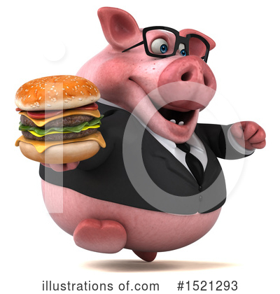 Royalty-Free (RF) Pig Clipart Illustration by Julos - Stock Sample #1521293