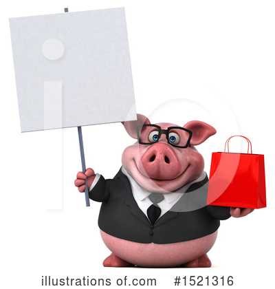 Royalty-Free (RF) Pig Clipart Illustration by Julos - Stock Sample #1521316
