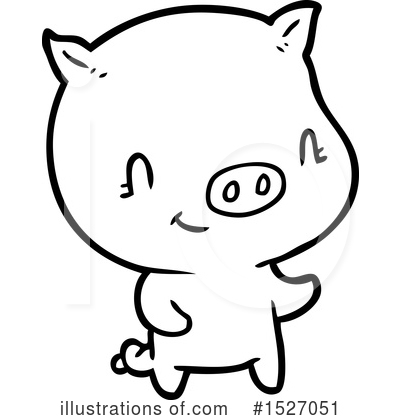 Royalty-Free (RF) Pig Clipart Illustration by lineartestpilot - Stock Sample #1527051