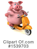 Pig Clipart #1539703 by Julos