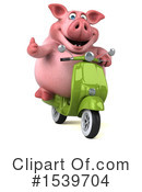 Pig Clipart #1539704 by Julos