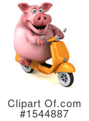 Pig Clipart #1544887 by Julos