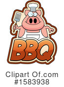 Pig Clipart #1583938 by Cory Thoman