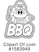 Pig Clipart #1583949 by Cory Thoman