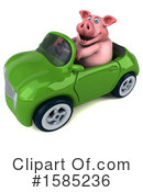 Pig Clipart #1585236 by Julos