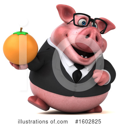 Royalty-Free (RF) Pig Clipart Illustration by Julos - Stock Sample #1602825