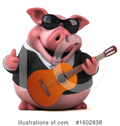 Royalty-Free (RF) Pig Clipart Illustration by Julos - Stock Sample #1602838