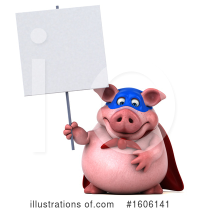 Royalty-Free (RF) Pig Clipart Illustration by Julos - Stock Sample #1606141