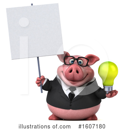 Royalty-Free (RF) Pig Clipart Illustration by Julos - Stock Sample #1607180