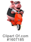 Pig Clipart #1607185 by Julos
