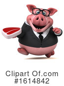 Pig Clipart #1614842 by Julos