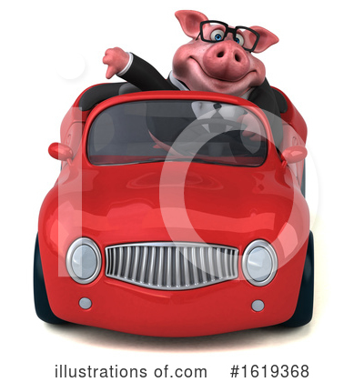Royalty-Free (RF) Pig Clipart Illustration by Julos - Stock Sample #1619368