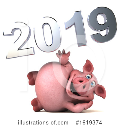 New Year Clipart #1619374 by Julos