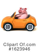 Pig Clipart #1623946 by Julos