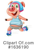 Pig Clipart #1636190 by Graphics RF