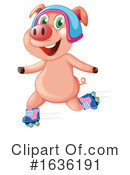 Pig Clipart #1636191 by Graphics RF