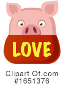 Pig Clipart #1651376 by Morphart Creations