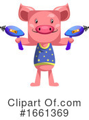 Pig Clipart #1661369 by Morphart Creations