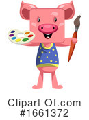 Pig Clipart #1661372 by Morphart Creations