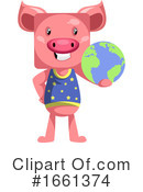 Pig Clipart #1661374 by Morphart Creations