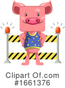 Pig Clipart #1661376 by Morphart Creations