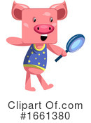 Pig Clipart #1661380 by Morphart Creations