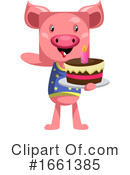 Pig Clipart #1661385 by Morphart Creations
