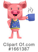 Pig Clipart #1661387 by Morphart Creations