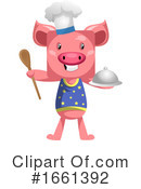 Pig Clipart #1661392 by Morphart Creations