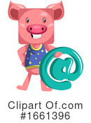 Pig Clipart #1661396 by Morphart Creations