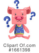 Pig Clipart #1661398 by Morphart Creations