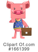 Pig Clipart #1661399 by Morphart Creations