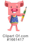 Pig Clipart #1661417 by Morphart Creations