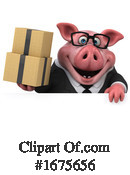 Pig Clipart #1675656 by Julos