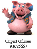 Pig Clipart #1675657 by Julos