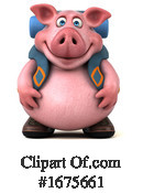 Pig Clipart #1675661 by Julos